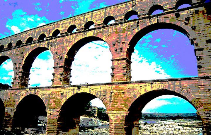 Pont du Gard - Nicholas Rous
