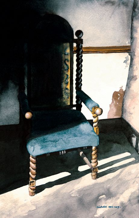 The old chair - Nicholas Rous