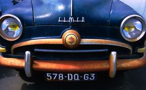 Old rusting Simca, France