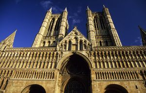 Lincoln Cathedral. England