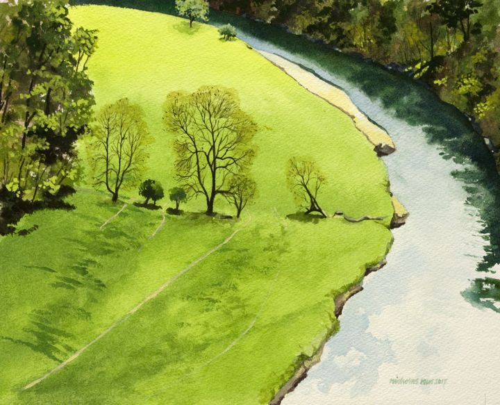 Above the Wye - Nicholas Rous
