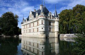 Chateau of Azay-le Rideau, Loire