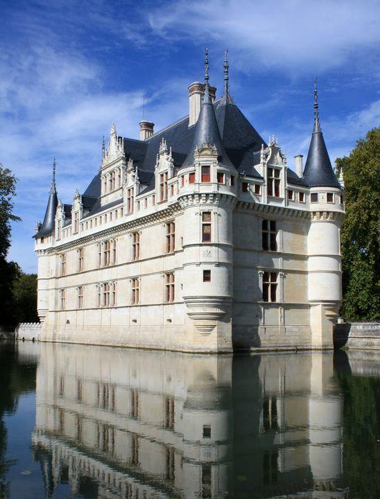 Chateau of Azay-le Rideau, Loire - Nicholas Rous