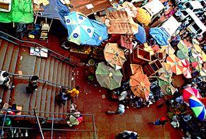 Street market, Kampala, Uganda