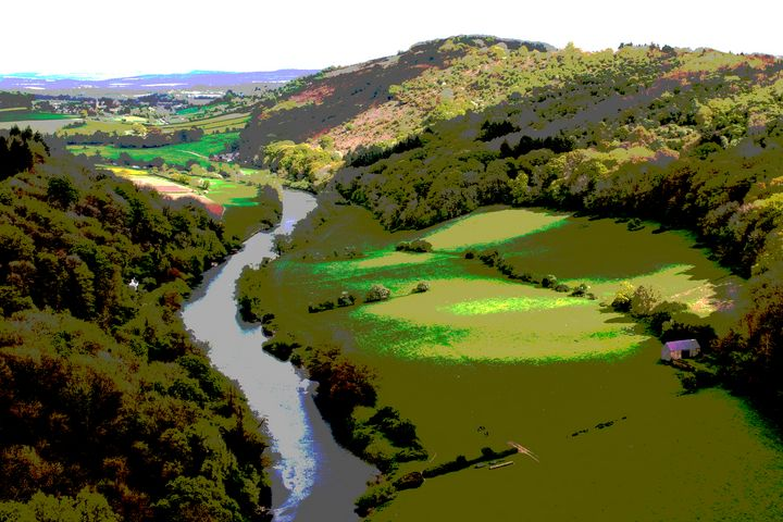 View of River Wye from Symond's Yat - Nicholas Rous