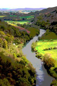 Vista of River Wye from Symond's Yat