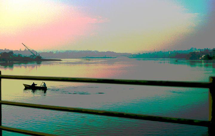 The River Nile at Jinja, Uganda - Nicholas Rous