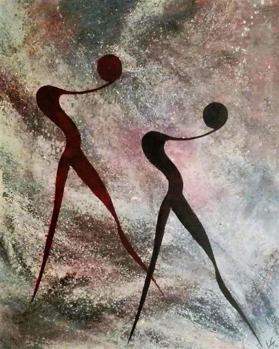 Salomé series n-2 - David Lara art