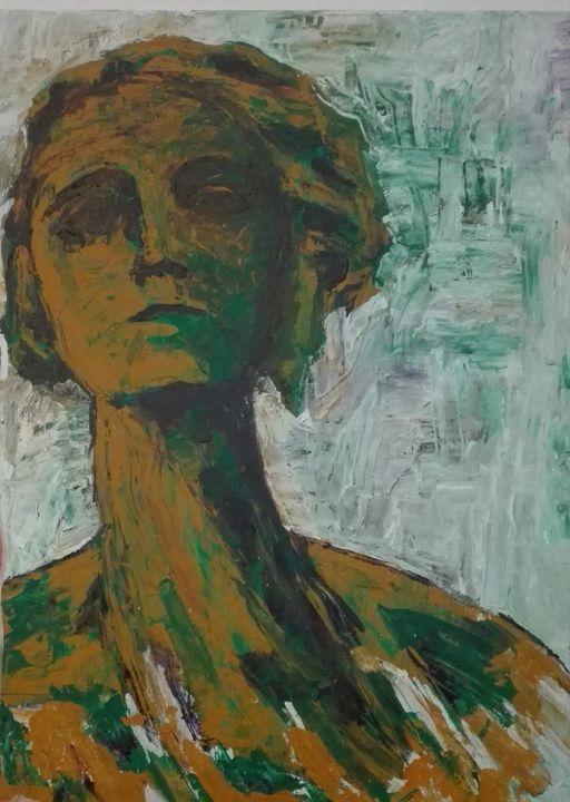green silence - David Lara art