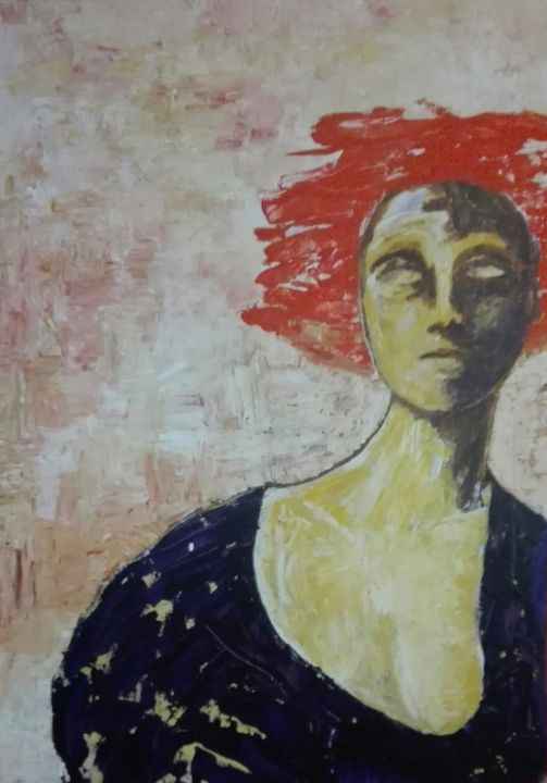 red wind - David Lara art