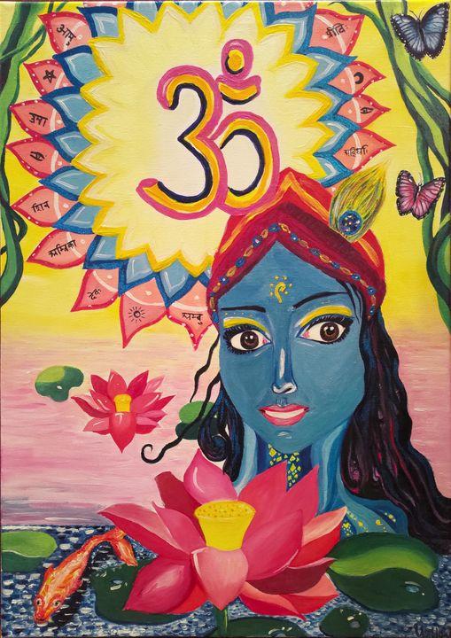 Indian Lotus - Karina Umbleja
