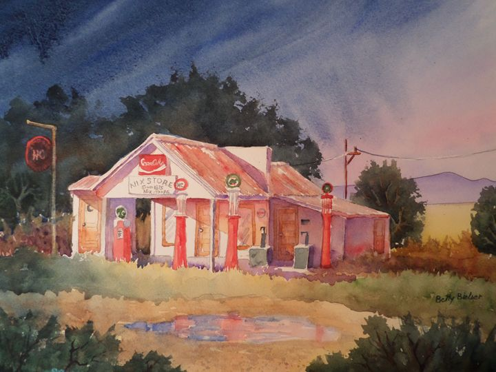 After the Rain - Bettys Watercolor