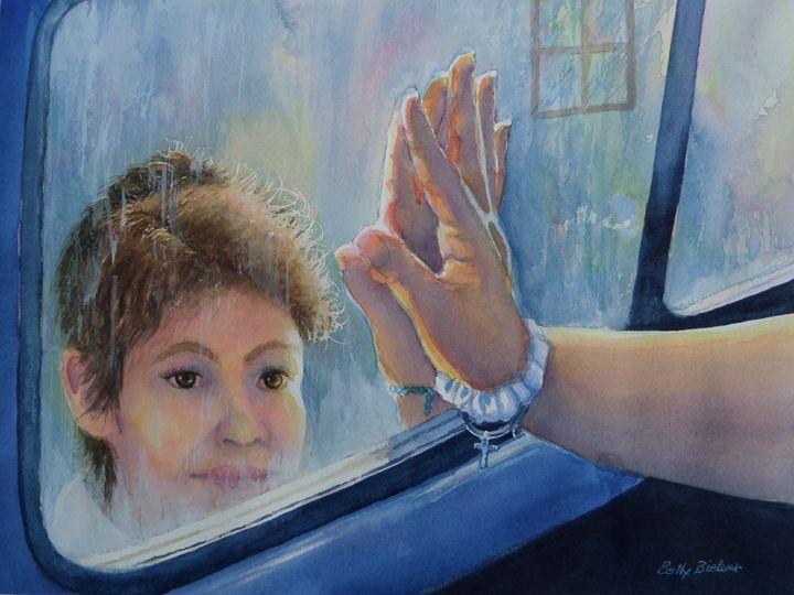 Saying Goodbye - Bettys Watercolor
