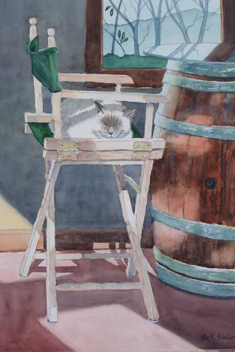 Winery Resident - Bettys Watercolor