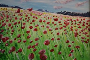 Field of Poppies - About Town Artistry