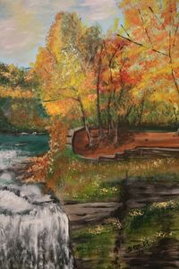 River Waterfall - About Town Artistry