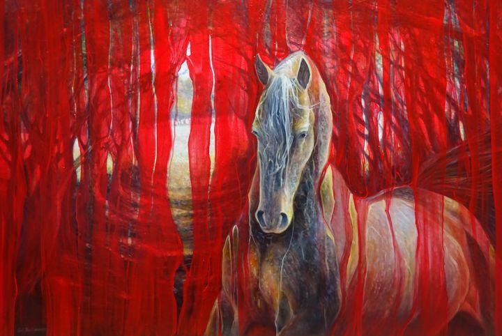 Horse Metamorphosis - Gill Bustamante - Artist