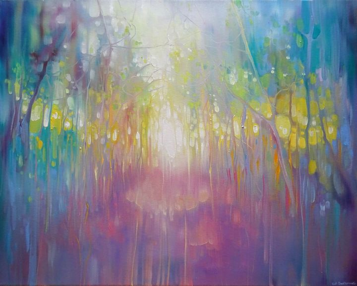 Chasing a Dream - Gill Bustamante - Artist