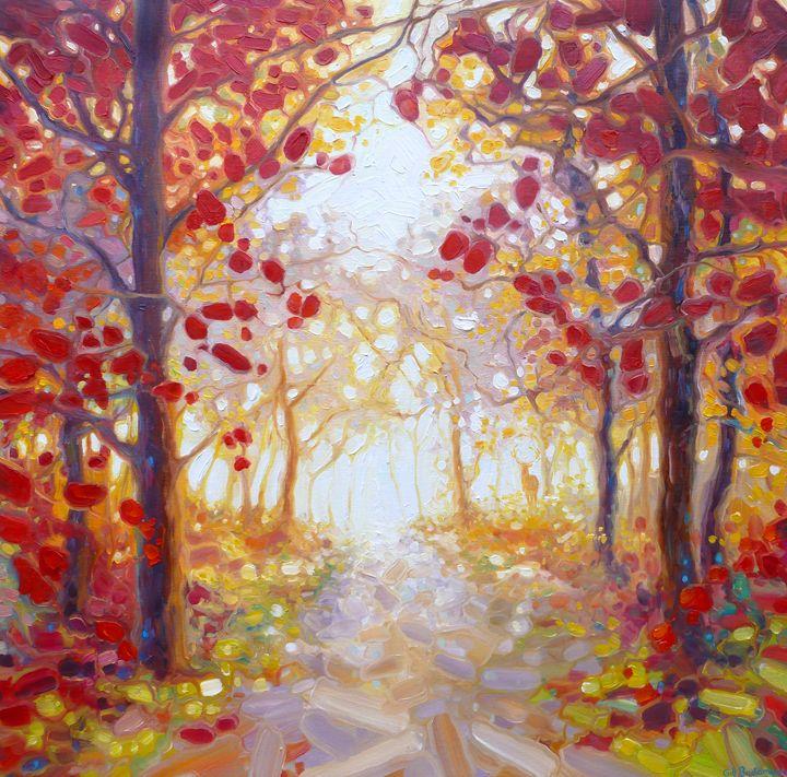 King of Autumn - Gill Bustamante - Artist