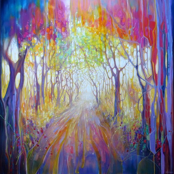 An Awakening - Gill Bustamante - Artist