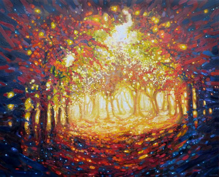 Autumn Riot - Gill Bustamante - Artist
