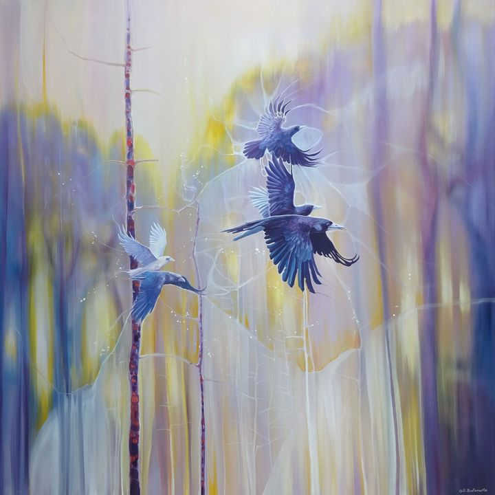 Realm of the Ravens - Gill Bustamante - Artist