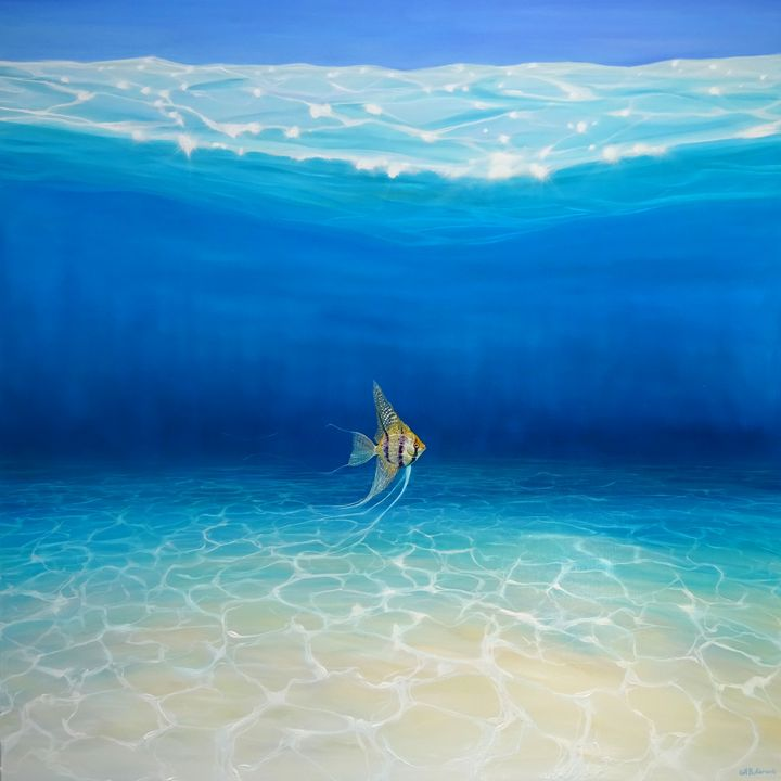 Angel Escapes to the Sea - Gill Bustamante - Artist