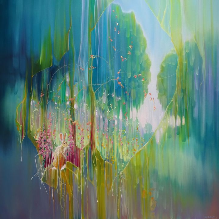 Hares Meadow - Gill Bustamante - Artist