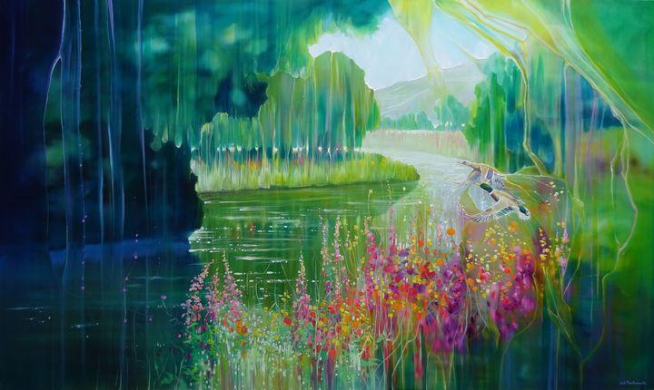 Spellbound River - Gill Bustamante - Artist