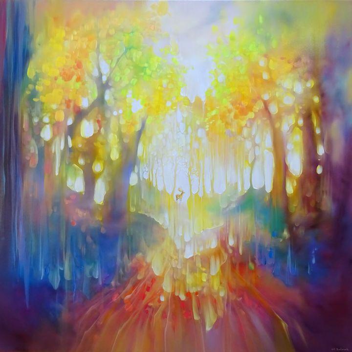 The Spirit Guide - Gill Bustamante - Artist