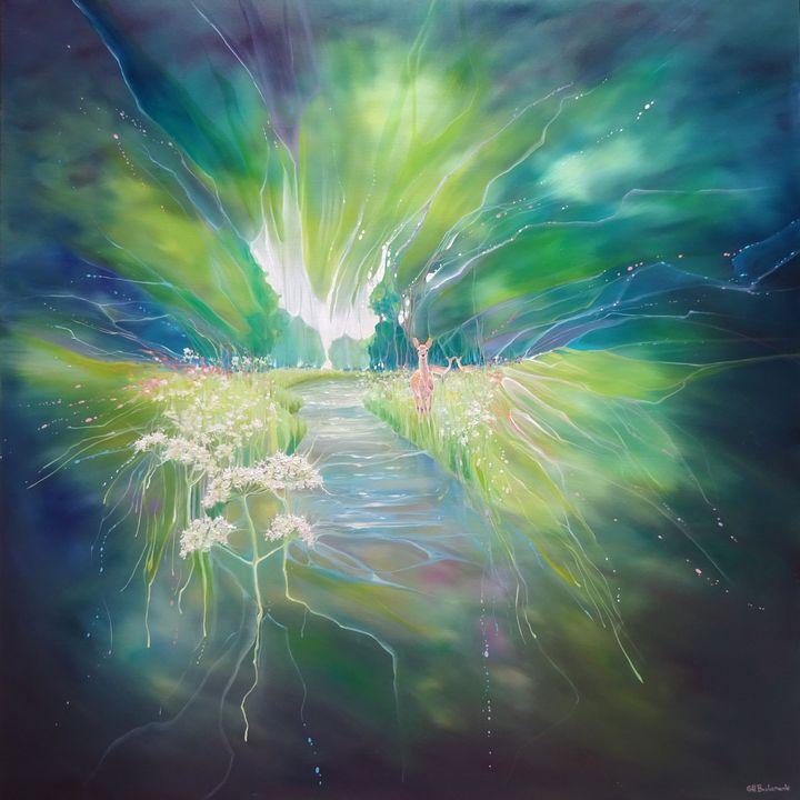 A Slice of Heaven - Gill Bustamante - Artist