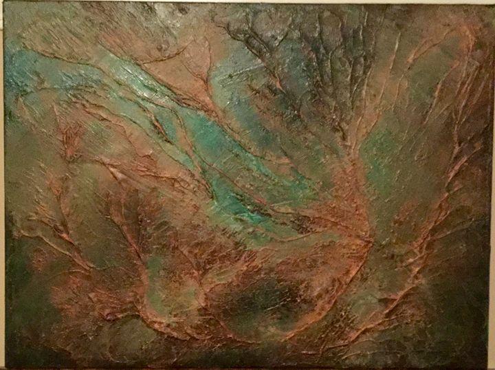 Copper in Motion - Lois Flett