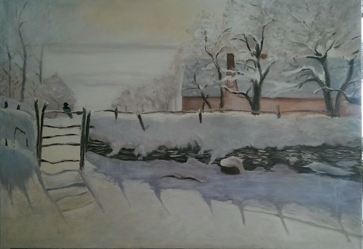 "Free copy of Monet's ""Mag Pie"" - Natalija Dauberga"