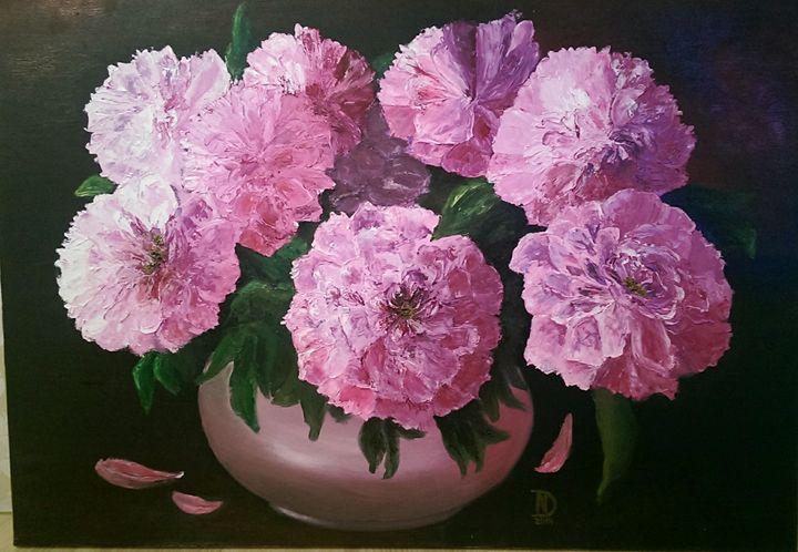 Pink peonies - Natalija Dauberga