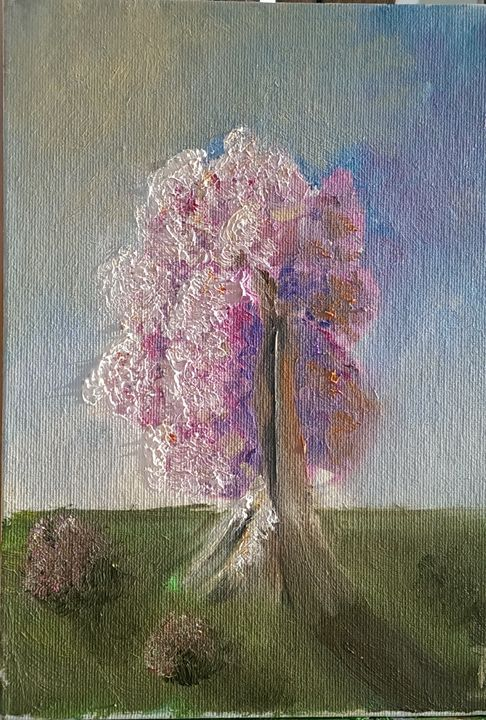 Blissoming tree - Natalija Dauberga