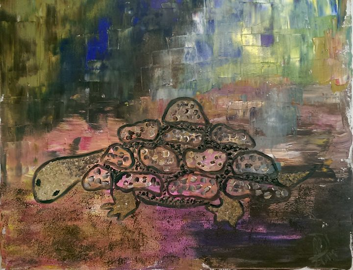 Turtle - Natalija Dauberga