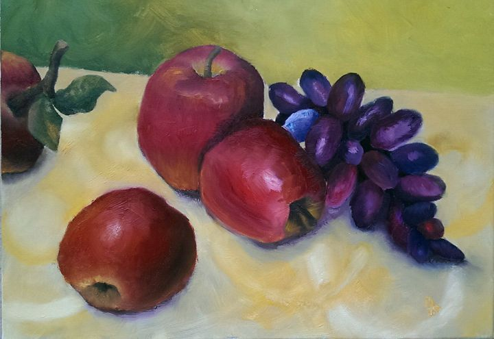 Apples and greaps - Natalija Dauberga
