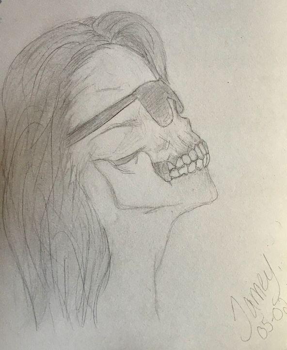 Rockin Dead - Jamey-Ellen's Masterpieces of Art
