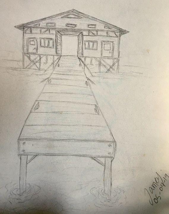 Boathouse - Jamey-Ellen's Masterpieces of Art