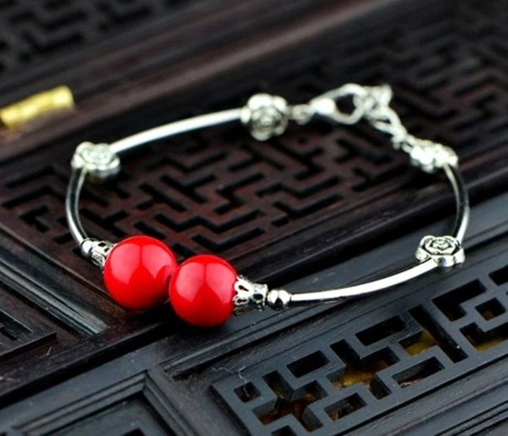 Tibetan Silver-tone Bracelet - X-Art