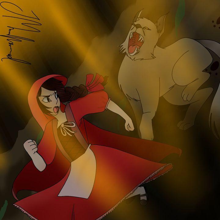 Little Red Riding Hood - Janiyah's Art