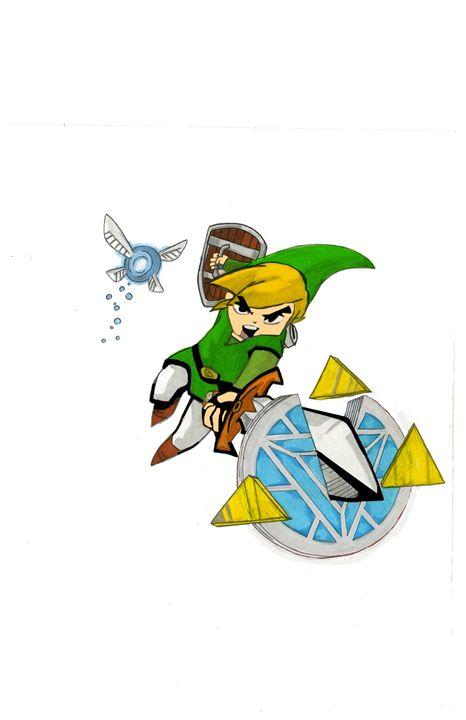 Link vs Arc Reactor - Kris Ink