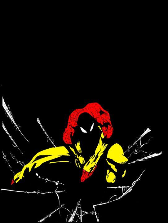 Spider-Man (Red/Yellow) - Kris Ink