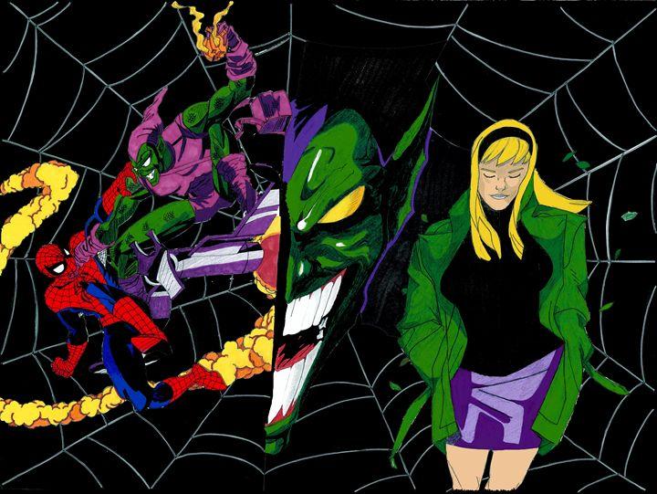Web Of Spider-Man - Kris Ink