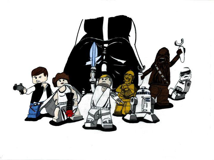Lego Star Wars - Kris Ink