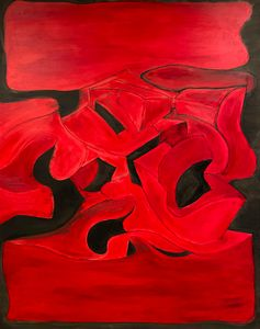Red with Black - Julius Babilonia