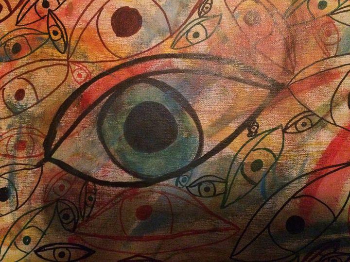 Eye see you - Paintings