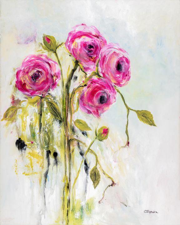 Roses - Cathy Dykstra Art