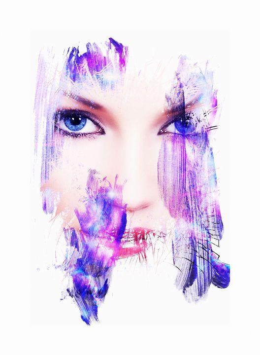 Lady Blue Eyes - Keith R Furness