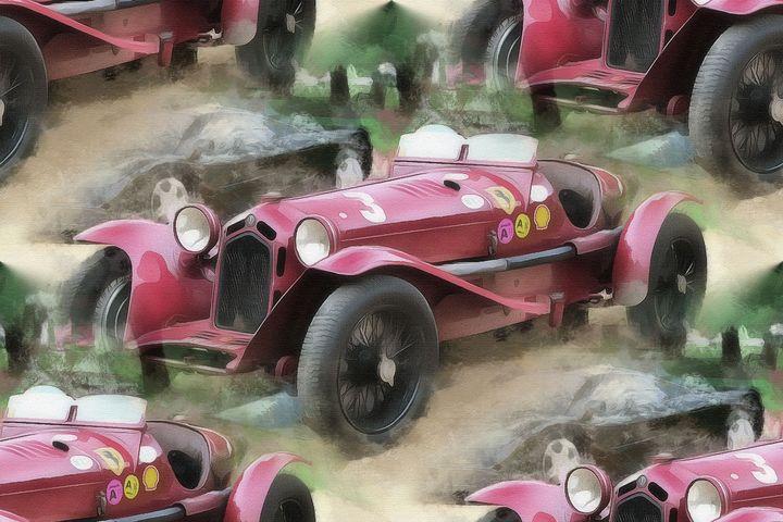 Classic Alfa Romeo - Keith R Furness